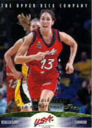 1996 Upper Deck Team USA Women's Basketball Cards